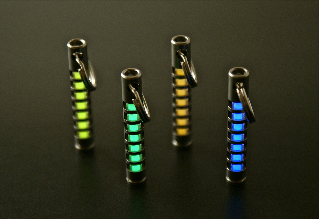 Merkava Isotope Fobs with Tritium Vial